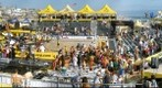 AVP Manhattan Beach Open, Beach Volleyball - winners celebrating - Sun July 19 2009