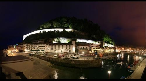 Puerto de San Sebastian - Donostia by Night