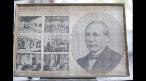 PORTRAIT CALLYGRAPHY BENITO JUAREZ 1877 , RETRATO CALIGRAFIADO BENITO JUAREZ 1877