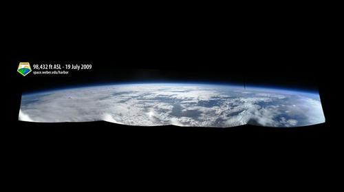Earth from 98,432 ft