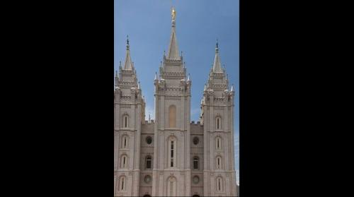 Latter-day Saint (Mormon) Temple, Salt Lake City, Utah, USA