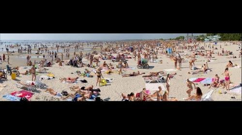 Pärnu Beach, Estonia