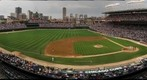 Wrigley Field - High 3rd base