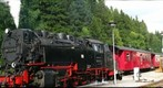 Brocken Bahn Steam Engine Train, Schierke, Harz Mountains, Germany