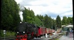 Brocken Bahn Steam Engine Train, Schierke, Harz Mountains, Germany, Take 2