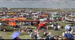 Airshow Crowd, North -- EAA AirVenture 2009