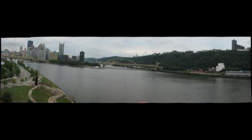 Pittsburgh from Carnegie Science Center