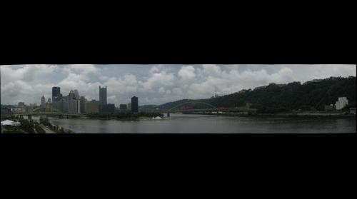 Pittsburgh View from Carnegie Science Center