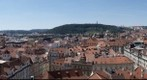 Prague Castle hill and city