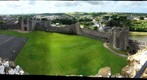 Pembroke Castle from Above