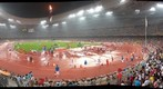 Inside the National Stadium of China on Day 15 of the 2008 Olympics 