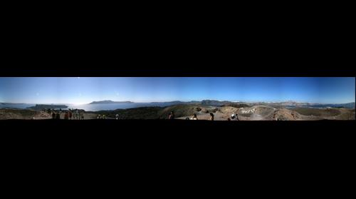 Panorama from Nea Kameni