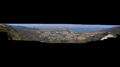 Lake Elsinore from Ortega Hwy