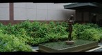 Texas Medical Center: Bronze Nude in a Calm Environment - a 360 Panorama