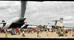 Aircraft on display at AirVenture.com 2009 Oshkosh EAA Air Show at Aeroshell Square