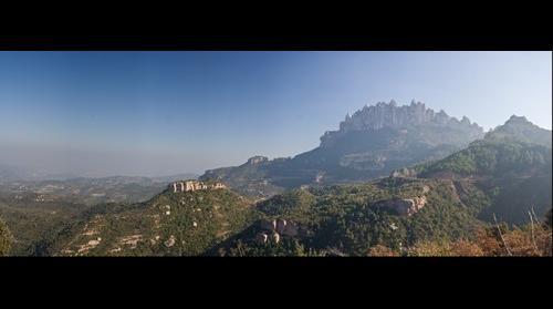 Montserrat Mountain, Catalunya, Spain