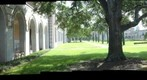Rice University: Fondren Library Looking From Northeast Corner Into Academic Quad - a 360 Panorama
