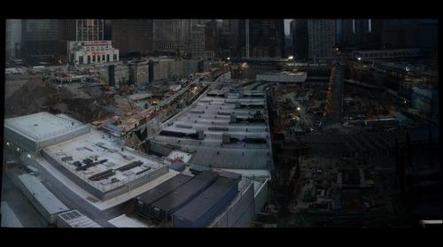 World Trade Center construction site looking South: July 2008