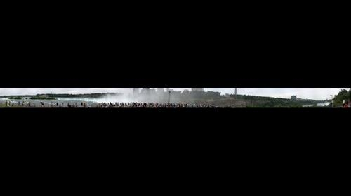 Niagara Falls Panorama from Goat Island