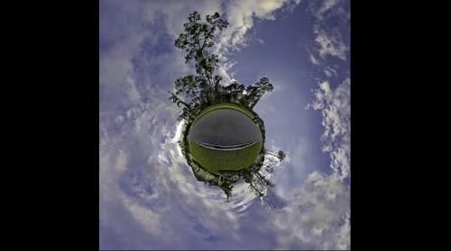 "Our House-""Little Planet"""