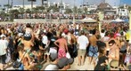 Surf Festival beach Volleyball tournament -Day 2 Final Game 2 Aug 3, 2009 - gigapan 80