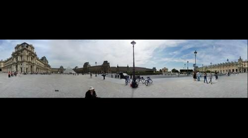 The Louvre Museum 360 degrees