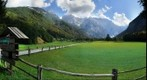 Beautiful valley of Logarska dolina in Slovenia
