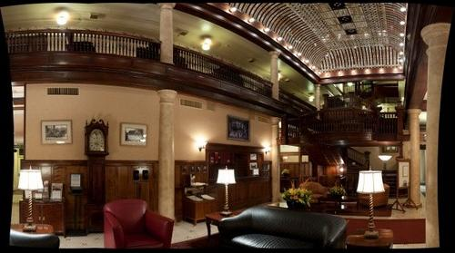 Lobby of the Hotel Boulderado