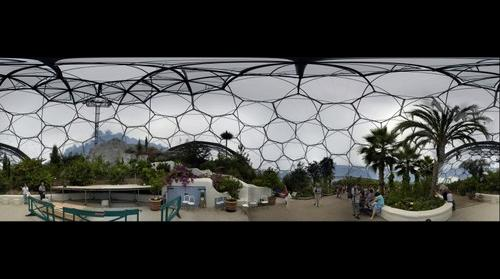 Arrid bio dome at the eden project
