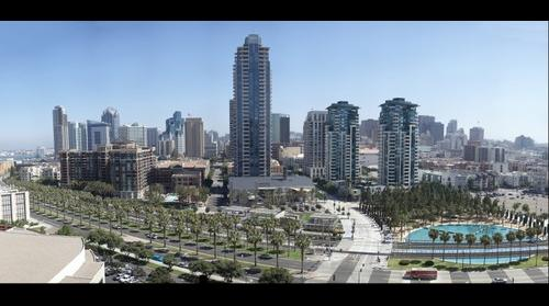 Downtown San Diego from Marriott