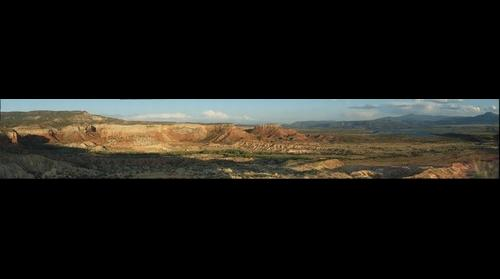 Ghost Ranch Panorama from Chimney Rock