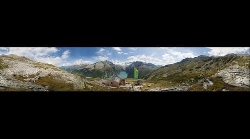 """360 deg. """"Olperer Hütte"""" - Austrian Alps"""