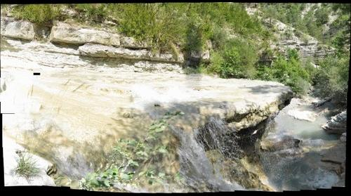 Falls close to Entrevaux