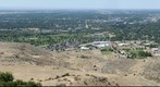 Wide View of Treasure Valley and Boise, Idaho Area