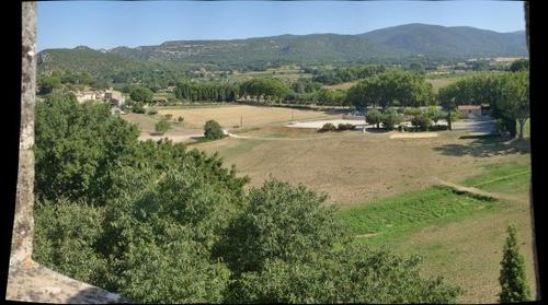 Luberon Mountain Range