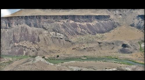 Jackson Hole and Intracanyon Lava, Owyhee River, OR
