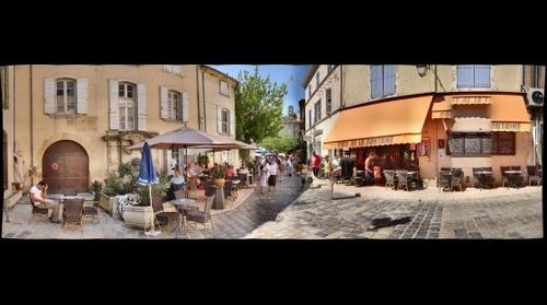 Cafe de la Fontaine, Lourmarin