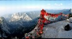 Huashan mountains