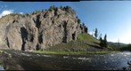 Obsidian Cliff, Firehole River, Yellowstone National Park