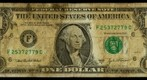 One Dollar Bill (Tarnished), 8.6 Gigapixel Macro Photograph