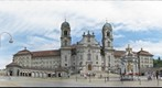 The monastery of Einsiedeln