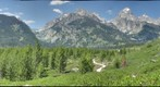 Taggart Lake View - Grand Teton National Park