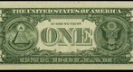 One Dollar Bill (Back), 8.6 Gigapixel Macro Photograph