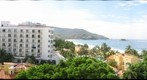 Ixtapa beach view