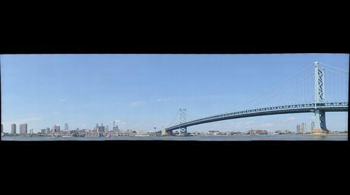 philadelphia with ben franklin bridge
