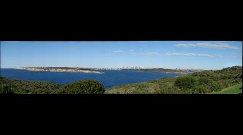 Sydney from North Head Scenic Drive
