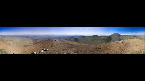 Santa Clara peak, Sierra Pinacate, Sonora MX
