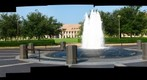 Rice University: Alice Pratt Brown Hall, McNair Hall and Baker Hall From Lee and Joe Jamail Plaza - a 360 Panorama
