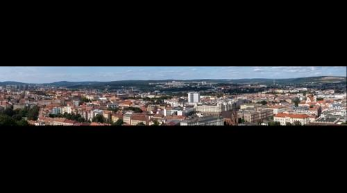 Brno - centre and north part