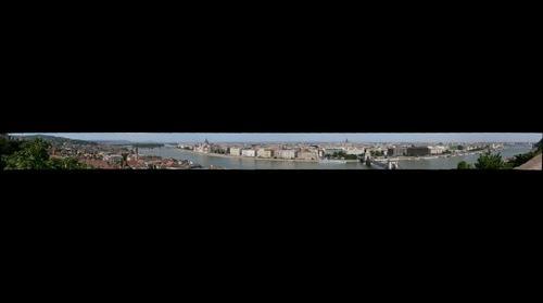 Budapest panoráma a Várból
